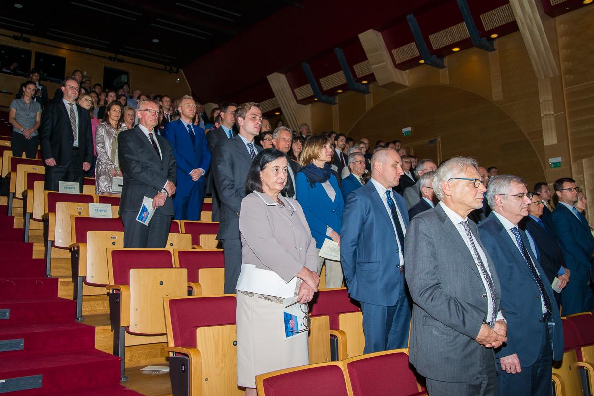 Slovesnost ob 25. obletnici slovenske samostojnosti v Luksemburgu (foto: Peter Verdnik)